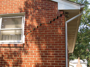 Woodford Bros., Inc. can repair interior and exterior foundation cracks.
